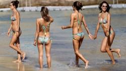 Alessandra Ambrosio, Chloe Moretz, Emma Roberts, Kate Hudson, Scarlett Johansson (Wallpapers) 6x