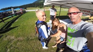 Hayden Panettiere Skydiving in Austria - 7/10/16