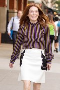 "Julianne Moore -                     Visiting ""Good Morning America"" New York City July 20th 2016."