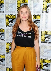 Holland Roden - 'Teen Wolf' Press Line during 2016 Comic-Con in San Diego 7/21/16