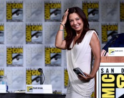 Ming-Na Wen Q&A panel at SDCC 22nd July 2016