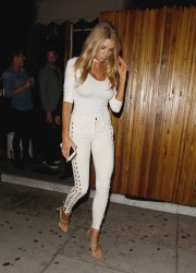 Charlotte McKinney - At The Nice Guy in West Hollywood 7/21/16