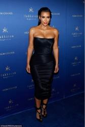 Kim Kardashian - Hosting at Hakkasan Nightclub in Las Vegas 7/22/16