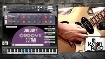 In Session Audio Lowdown Groove Guitar and Direct [MULTiFORMAT]