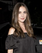 Alison Brie -                 Elizabeth And James Store Opening Party West Hollywood July 26th 2016.