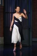Alicia Vikander -             ''Late Night With Seth Meyers'' July 26th 2016.