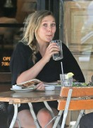 Elizabeth Olsen - Having lunch in LA 7/28/16