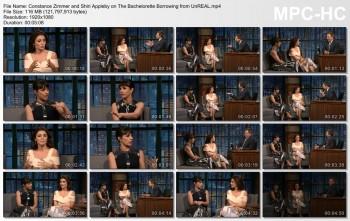 Shiri Appleby - Late Night With Seth Meyers 7/31/16