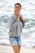 Gisele Bundchen - At the beach in Rio de Janeiro, Brazil 8/5/16