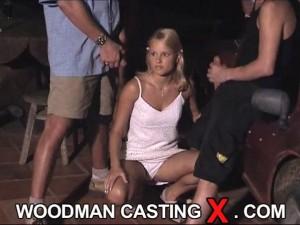 Woodman Casting nude bikini