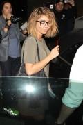 Sarah Hyland & Nicole Scherzinger - At Craig's in West Hollywood 8/16/16