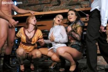Briana Belucci, Gioia Biel, Jasmina - Sleazy Riders (2016) 720p