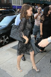 Natalie Portman - Out in NYC 8/18/16