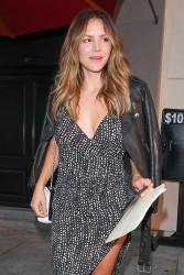 Katharine McPhee - At Craig's in West Hollywood 8/23/16
