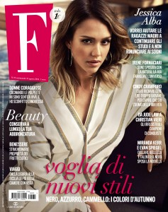 Jessica Alba -                     F Magazine (Italy) August 31st 2016.