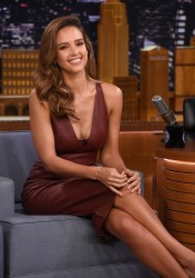 Jessica Alba - On The Tonight Show in NYC 8/25/16