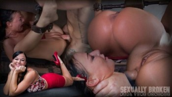 London River - London River Cant Stop Cumming When Bound with Rough Anal Sex! (2016) 720p