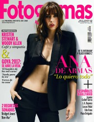 Ana De Armas -                   Fotogramas Magazine (Spain) September 2016.
