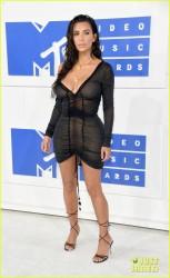 Kim Kardashian - 2016 MTV VMAs in NYC 8/28/16