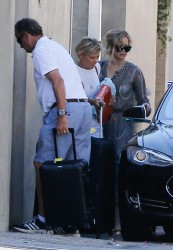Jennifer Lawrence - With her parents in Malibu 8/28/16