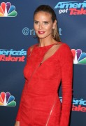 "Heidi Klum -                 ""America's Got Talent"" Season 11 Live Show Hollywood August 31st 2016."