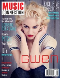 Gwen Stefani -                          Music Connection Magazine September 2016.