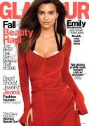 Emily Ratajkowski -    Glamour Magazine (U.S) October 2016.