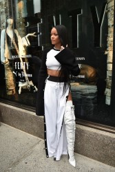Rihanna - Bergdorf Goodman Celebrates the Launch of FENTY PUMA by Rihanna in NYC 9/6/16