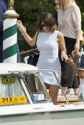Gemma Arterton - Leaving her hotel in Venice 9/7/16