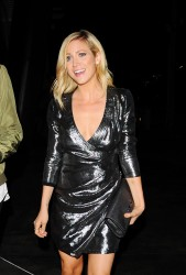 Brittany Snow - Arriving at Drake's Concert in LA 9/7/16