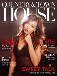 """Daisy Lowe in """"Country & Town House"""" interview x7"""