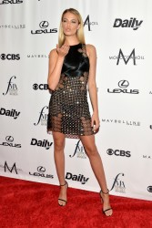 Hailey Clauson - The Daily Front Row's 4th Annual Fashion Media Awards in NYC 9/8/16