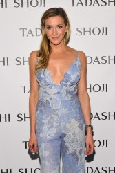 Katie Cassidy - Tadashi Shoji Fashion Show in NYC 9/9/16