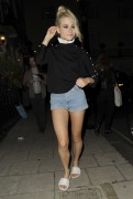 Pixie Lott | Outside the Theatre Royal Haymarket in London | September 9 | 7 pics