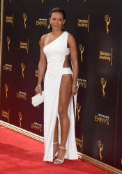 Melanie Brown - Bandage Gown At The Creative Arts Emmy's Awards In LA (9/10/16)