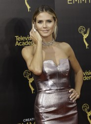 Heidi Klum - 2016 Creative Arts Emmy Awards at the Microsoft Theater in Los Angeles (9/11/16)