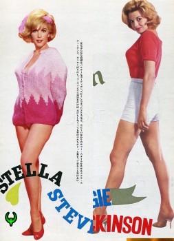 Angie Dickinson & Stella Stevens: *** Kittens Circa 1964