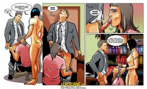 [Cuckold story comics] office cuckolding, secretary sissy, boss slut wedding rape BI bitch wife Cum eating Depraved Housewife