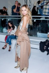 Alexis Ren - Reem Acra Fashion Show in NYC 9/13/16