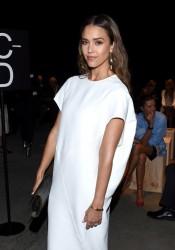 Jessica Alba - Narciso Rodriguez Fashion Show in NYC 9/13/16