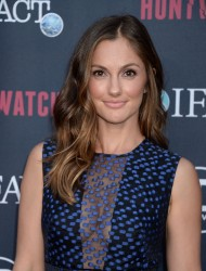 Minka Kelly - 'Huntwatch' Screening in LA 9/15/16