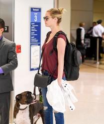 Kate Upton - At LAX Airport 9/15/16