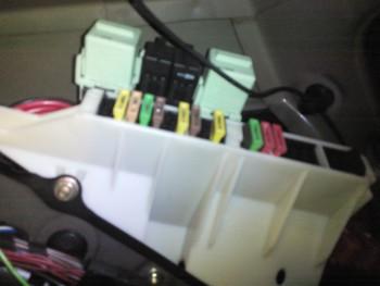 E39 525d Touring Kraftstoffpumpe Relais Sicherung 5er