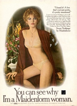 Rene Russo: 1979 Maidenform Bra & Panty Ad: HQ x 1