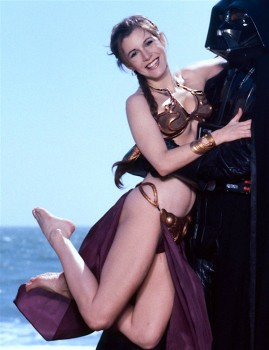 Carrie Fisher: In The Arms Of Darth: HQ x 1