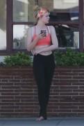 Elle Fanning - Out in Studio City 9/18/16