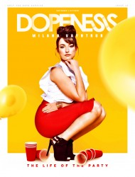 Milana Vayntrub - Dopeness Magazine - September/October 2016 Issue 13