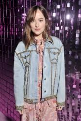 Dakota Johnson - Gucci Fashion Show in Milan 9/21/16