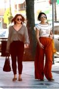 Vanessa & Stella Hudgens - Shopping in Studio City 9/26/16