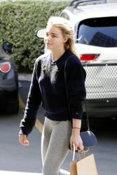 Chloe Grace Moretz - Leaving a dentist office in Tarzana 9/28/16